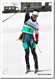 第87回宮様スキー大会国際競技会 バイアスロン競技