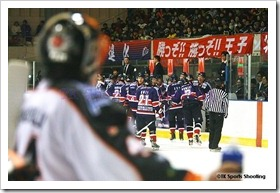 ASIA LEAGUE ICE HOCKEY2010-2011 X'mas Games in SAPPORO 2日目