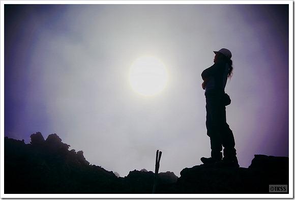 桂月岳山頂