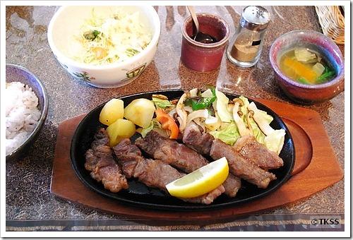 ステーキセット(サーロインカット) 森のキッチン かわい