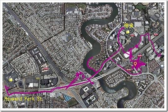 San Mateo お散歩コース