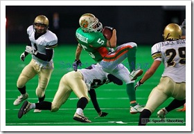 札幌ベンガルズ vs 仙台ブラックボルツ (アメリカンフットボール北海道・東北社会人王座決定戦)