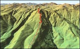 黒岳登山 PathView