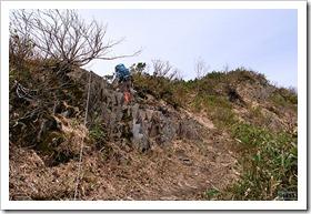 昆布岳登山