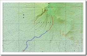 駒ケ岳登山 Map