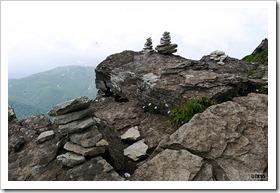徳舜瞥山、ホロホロ山登山
