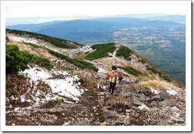 羊蹄山登山
