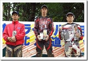 2009全日本トライアル選手権シリーズ第4戦 北海道大会 国際B級表彰