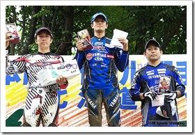 2009全日本トライアル選手権シリーズ第4戦 北海道大会 国際A級スーパークラス表彰