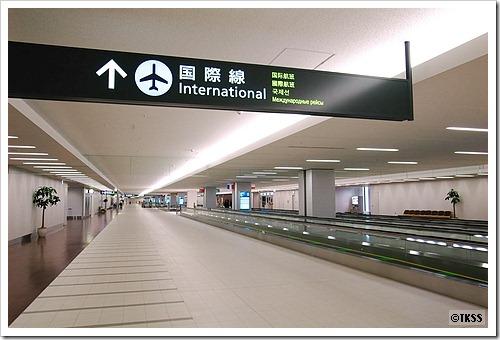 国際線ターミナル連絡通路