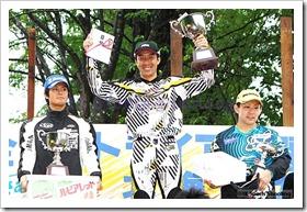 2010全日本トライアル選手権シリーズ第4戦 北海道大会 国際A級スーパークラス表彰