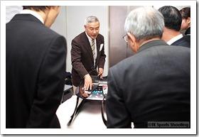 バンクーバー五輪リュージュ競技日本代表選手「安田 文」さん壮行会