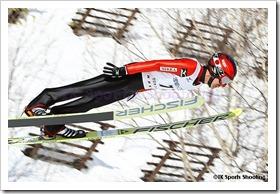 岡部孝信 第51回NHK杯ジャンプ大会 兼 第88回全日本スキー選手権大会ラージヒル競技