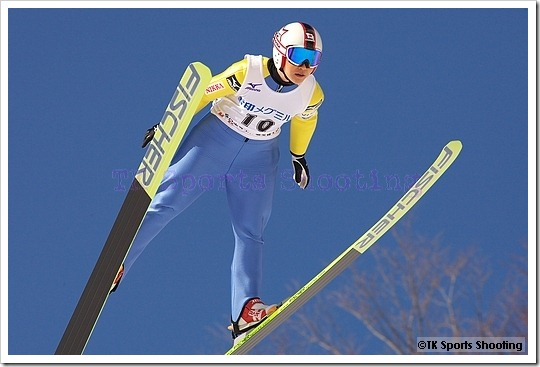 渡瀬あゆみ 第51回NHK杯ジャンプ大会 兼 第88回全日本スキー選手権大会ラージヒル競技