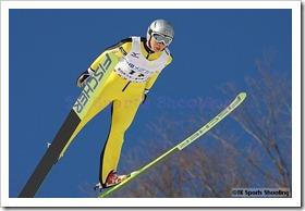 葛西賀子 第51回NHK杯ジャンプ大会 兼 第88回全日本スキー選手権大会ラージヒル競技