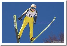 金井理恵子 第51回NHK杯ジャンプ大会 兼 第88回全日本スキー選手権大会ラージヒル競技