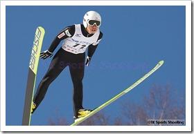 伊東大貴 第51回NHK杯ジャンプ大会 兼 第88回全日本スキー選手権大会ラージヒル競技