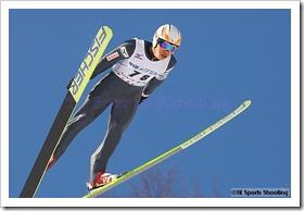 竹内択 第51回NHK杯ジャンプ大会 兼 第88回全日本スキー選手権大会ラージヒル競技