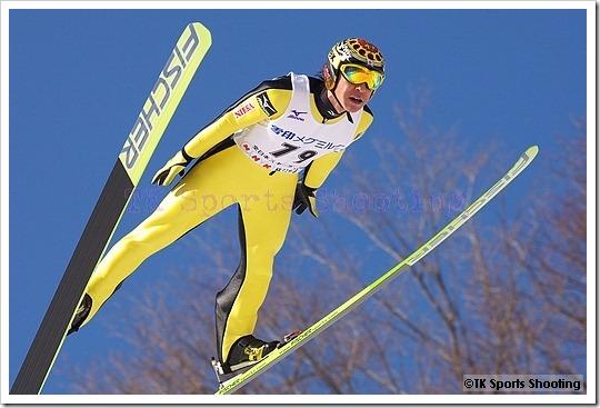 葛西紀明 第51回NHK杯ジャンプ大会 兼 第88回全日本スキー選手権大会ラージヒル競技