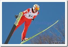 栃本翔平 第51回NHK杯ジャンプ大会 兼 第88回全日本スキー選手権大会ラージヒル競技