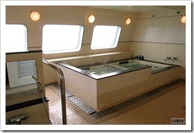 シルバークィーンの展望風呂