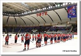 iアジアリーグアイスホッケー 王子イーグルス vs 日本製紙クレインズ