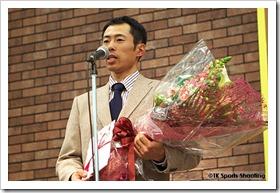 井佐英徳 第21回バンクーバーオリンピックバイアスロン競技日本代表選手壮行会