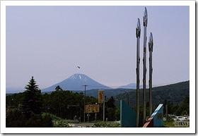 中山峠から眺める羊蹄山
