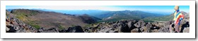 黒岳、北海岳、緑岳、白雲岳、小泉岳、赤岳縦走 2日目