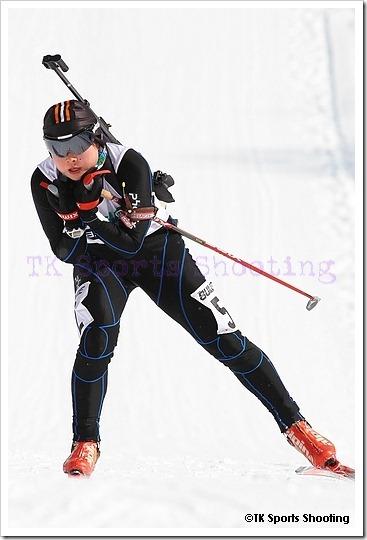第81回宮様スキー大会国際競技会バイアスロン競技2日目