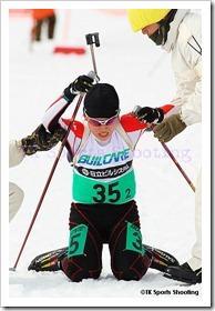 第81回宮様スキー大会国際競技会バイアスロン競技1日目