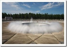 モエレ沼公園 海の噴水