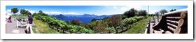 洞爺湖サイロ展望台からの眺め