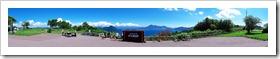 サイロ展望台から眺めた洞爺湖