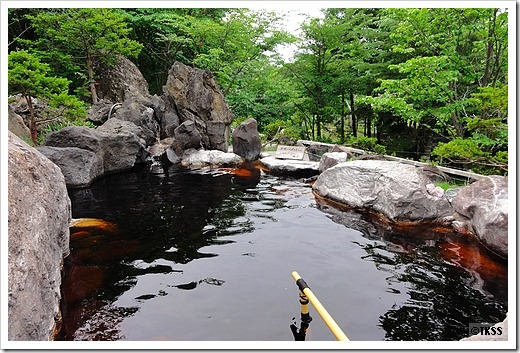 竹山高原温泉 露天風呂