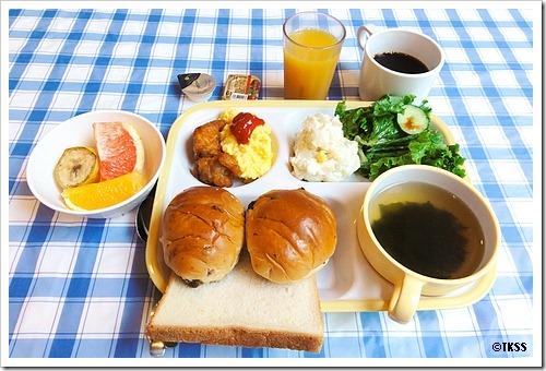 のサービス朝食