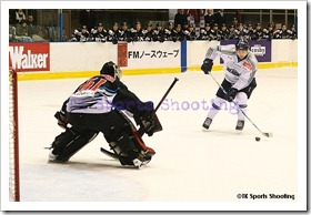 ASIA LEAGUE ICE HOCKEY2009-2010 X'mas Games in SAPPORO 1日目