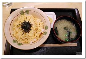ぶっかけ生卵ご飯(中)