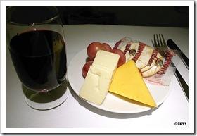 UAビジネスクラス機内食 デザート