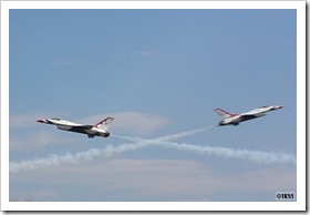 サンダーバーズ at CHITOSE Air Base