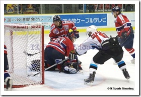 王子イーグルス 対 日本製紙クレインズ