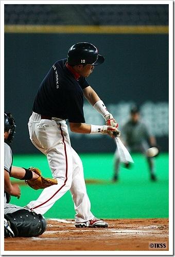 草野球@札幌ドーム