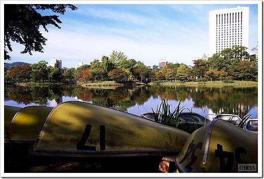 菖蒲池(中島公園)