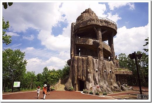 滝野の森 森見の塔