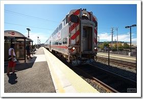 Caltrain Hillsdale駅