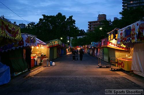 中島公園の出店