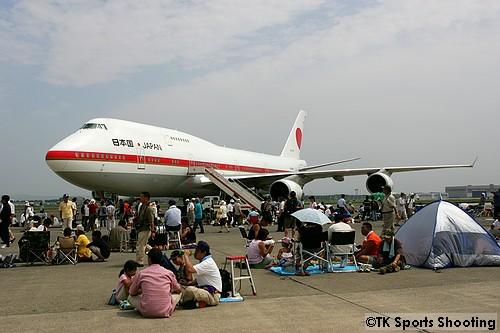 B-747-400 政府専用機