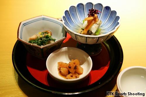 ひと口 菜々 時季の小鉢3種盛合せ
