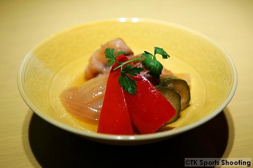 太刀魚と旬菜の南蛮漬け