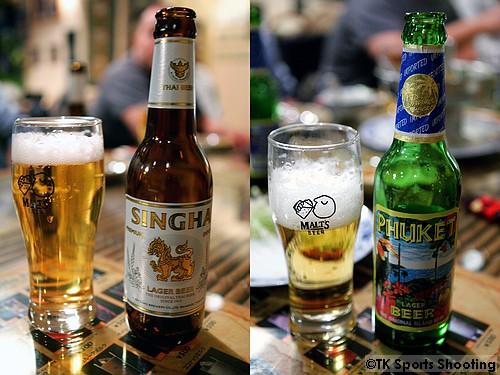 シンハー&プーケットビール